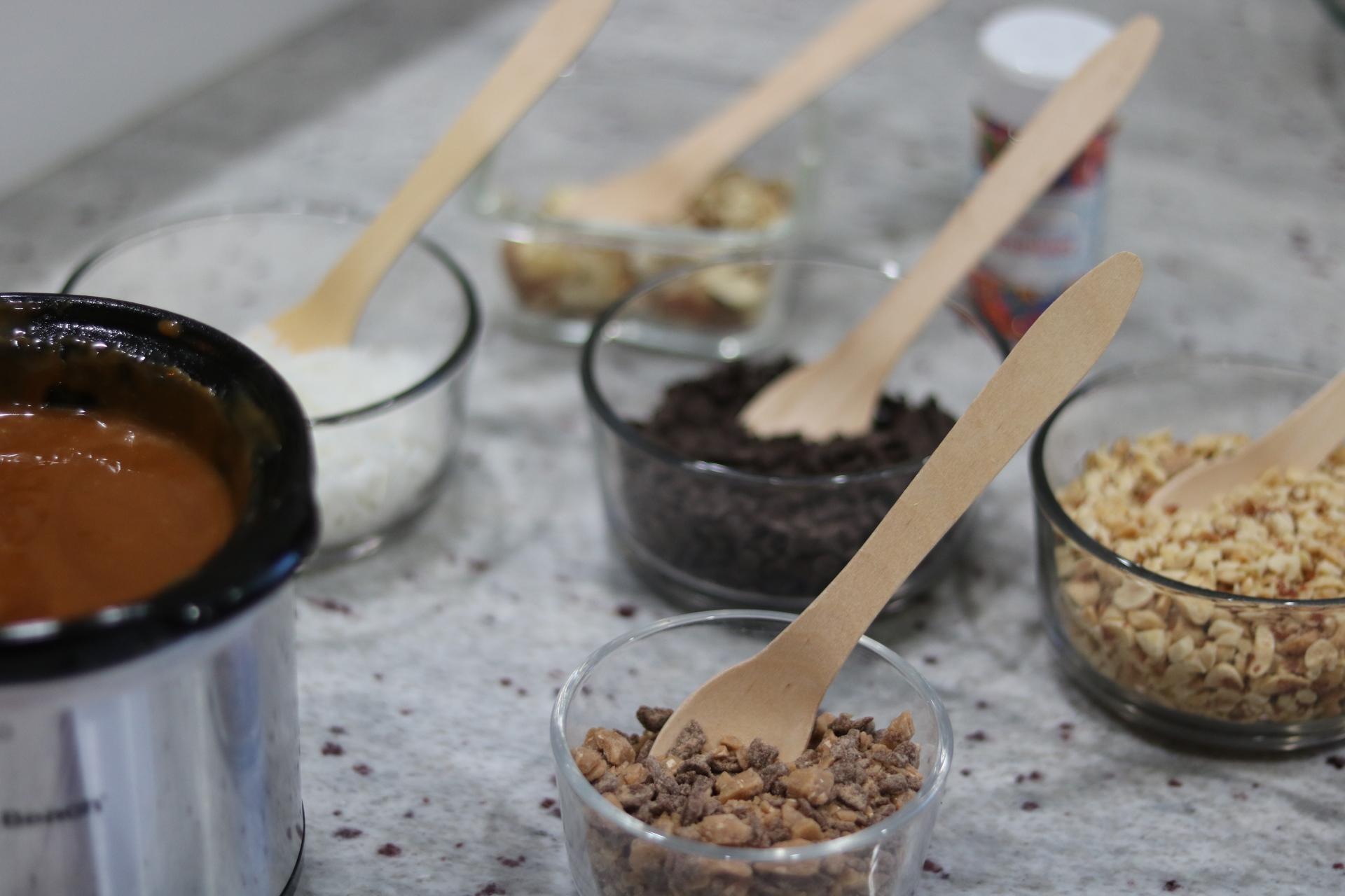 toppings for caramel apple bar