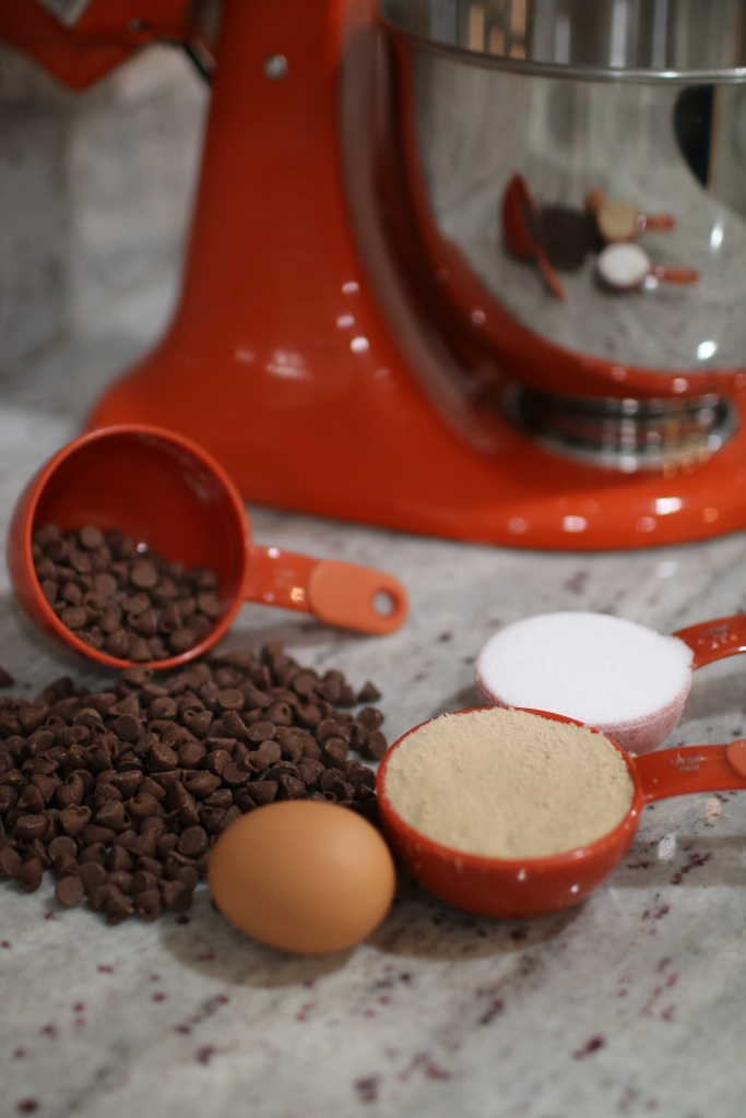 close up of some cookie ingredients